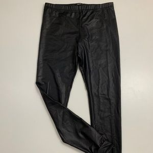 BDG Urban Outfitters Faux Leather Cuff Hem Legging